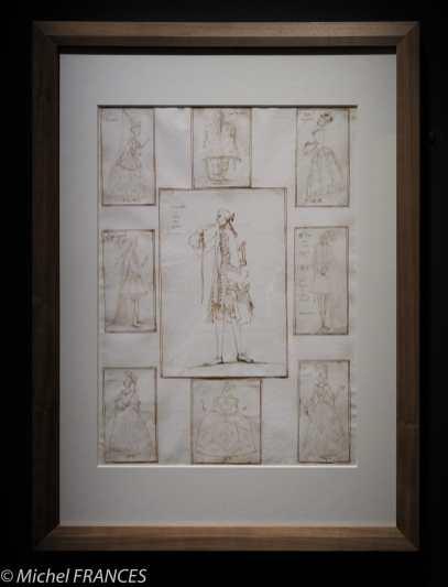 expo Éblouissante Venise - Antonio Maria Zanetti di Girolamo il Vecchio - album de caricatures