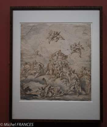 expo Éblouissante Venise - Gaspare Diziani - Le triomphe de Flore -