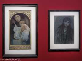 Musée du Luxembourg - Expo Mucha - Russia restituenda - Portrait de Halide Edip Adivar - vers 1925