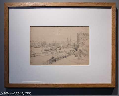 Musée beaux-arts de Brest - Jules Noël - La Penfeld - vers 1850