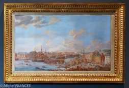 Musée beaux-arts de Brest - Louis-Nicolas van Blarenberghe - Le port de Brest (prise de la mâture) - 1776