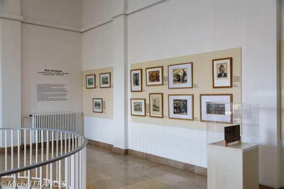 Musée beaux-arts de Brest - Accrochage des Bois Bretagne