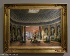 expo Collection Campana - Lorenzo Scarabellotto ) - La galerie des sculptures de la Villa Campana au Latran