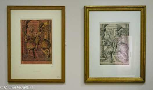 expo Gravure en clair-obscur - Hans Burgkmair - L'Empereur Maximilien à cheval - 1508