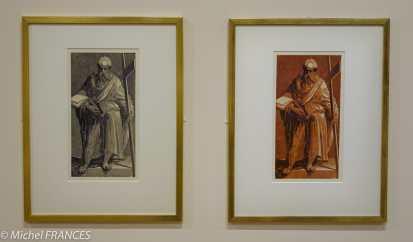 expo Gravure en clair-obscur - Domenico Beccafumi - Apôtre saint Philippe