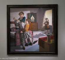 Orangerie - expo Paula Rego - La famille - 1988
