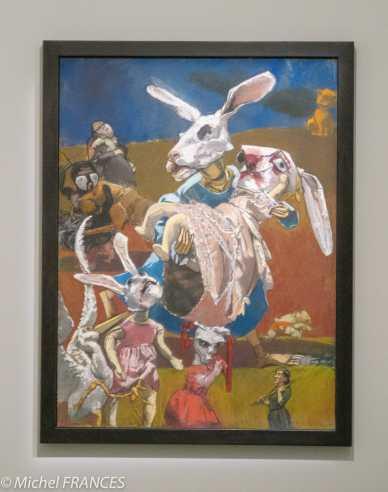 Orangerie - expo Paula Rego - Guerre - 2003 - inspiré par une photo de la guerre en Irak