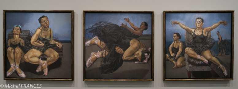 Orangerie - expo Paula Rego - Autruches dansantes de Fantasia de Dysney - 1995