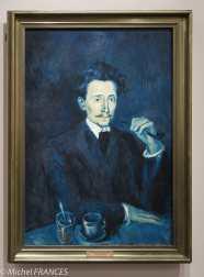 musée d'Orsay, exposition Picasso rose et bleu - Portrait de Soler - 1903