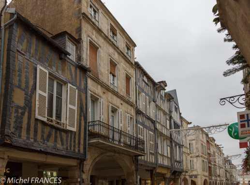 La Rochelle, les rues du centre ville