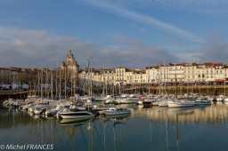 La Rochelle, rayon de soleil en fin de visite