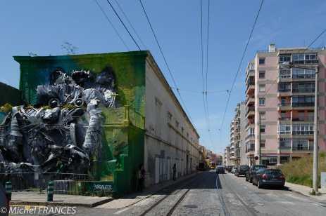 Bordalo II - Lisbonne, Belem