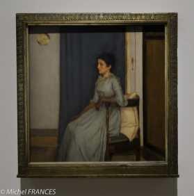 exposition Fernand Khnopff - Marie Monnom - 1887