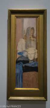 exposition Fernand Khnopff - Une aile bleue - 1894