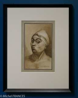 exposition Jean-Jacques Lequeu - Jeune homme faisant la moue