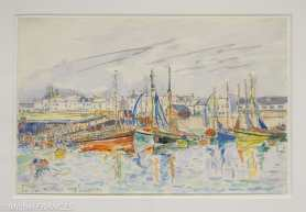 Fondation Custodia - expo 500 dessins musée Pouchkine - Paul Signac - La Turballe - 1930