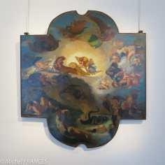 musée Delacroix - expo Delacroix et Eugène - Odilon Redon - Le triomphe d'Apollon, d'après Eugène Delacroix