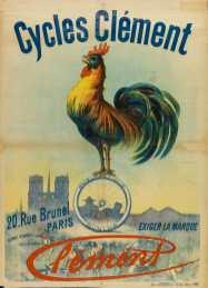 Titre(s) Cycles Clément, 20 rue Brunel, Paris. Exigez la marque Clément. Pneumatique Dunlop : [affiche] Autre(s) auteur(s) Imprimerie Kossuth (Paris) [Imprimeur] Editeur(s), Imprimeur(s) [S.l.] : [éditeur inconnu], [189.] (Paris), 24 rue Albouy : Imp. J. Kossuth et Cie Description 1 affiche : en coul. ; 130 x 98 cm Sujet(s) Cycles et automobiles Clément -- Publicité Bicyclettes -- Publicité -- 1870-1914 Coq -- Dans la publicité Paris (France) -- Cathédrale Notre-Dame -- Dans la publicité Mot(s)-clé(s) Cycles et automobiles Clément bicyclettes coq Paris (France) Cathédrale Notre-Dame Cote de l'exemplaire numérisé AF 91303 GF Date de mise en ligne 16/05/2017 Droits d'accès Consultable sans restrictions Droits domaine public Source Ville de Paris / Bibl. Forney / Roger-Viollet