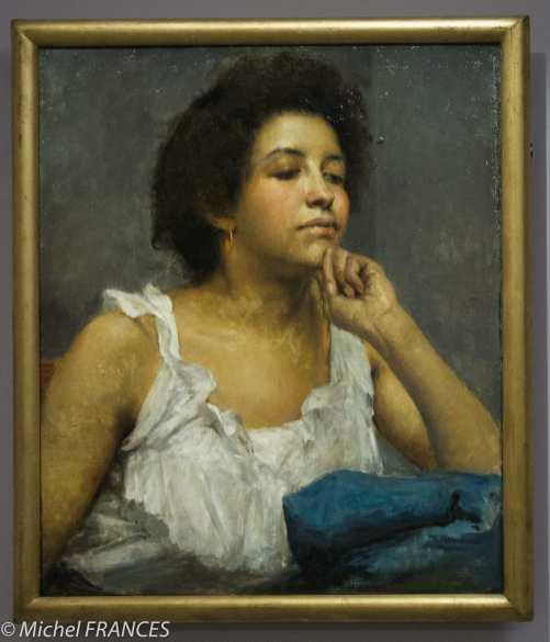 expo Le modèle noir - Edgar Maxence - L'attente - 1894