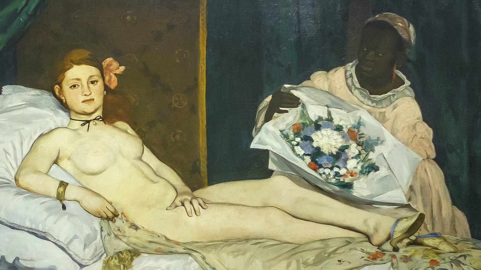expo Le modèle noir – Édouard Manet – Olympia