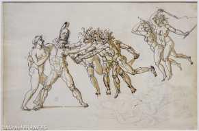Musée Cognacq-Jay - Génération en Révolution - Philippe-Auguste Hennequin - Les remords d'Oreste - vers 1800