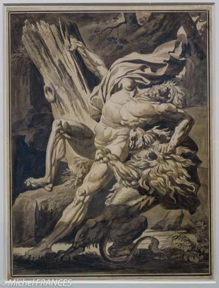 Musée Cognacq-Jay - Génération en Révolution - Charles Meynier - Milon de Crotonne - 1795