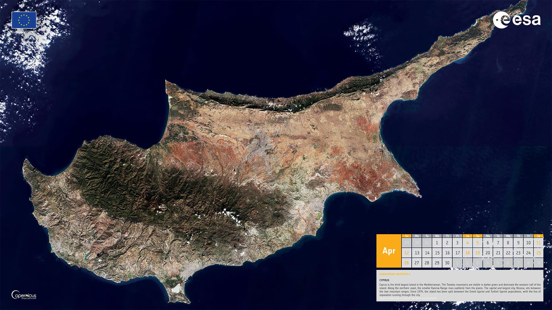 Avril 2020 - Île de Chypre