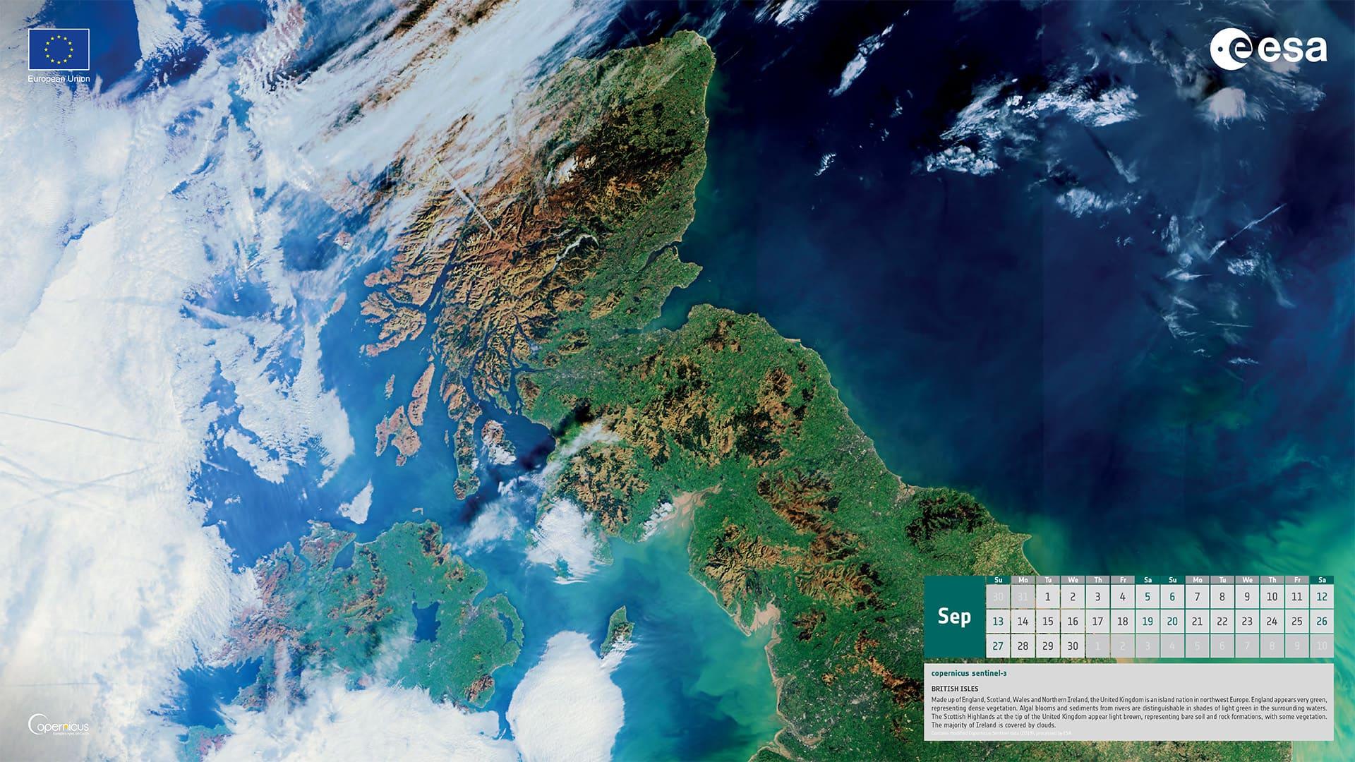 Septembre 2020 - Îles britanniques