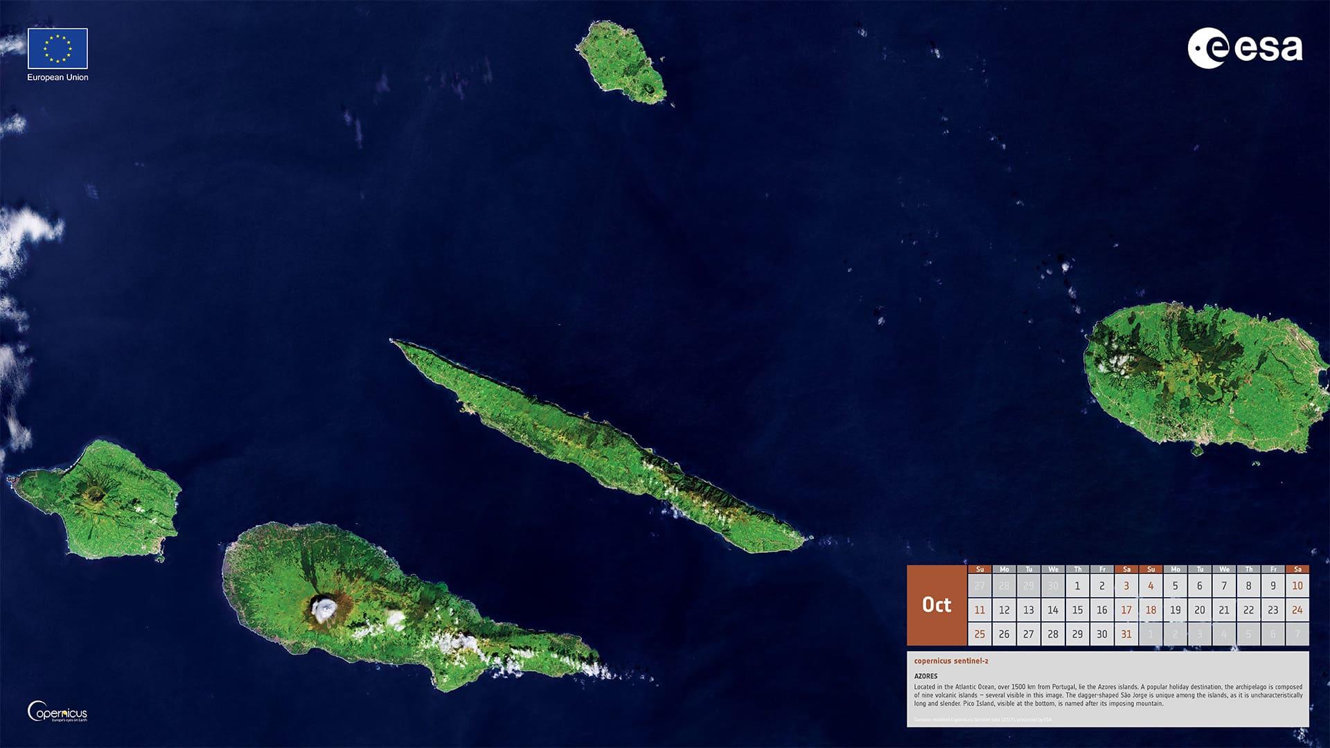 Octobre 2020 - Îles des Açores (Portugal)