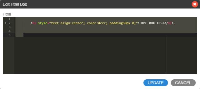 การใช้งาน HTML BOX element-ระบบร้านค้าออนไลน์
