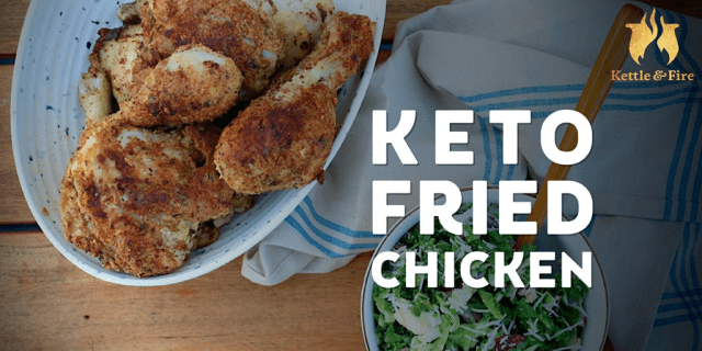 Quick Keto Lunches to Fit Into Your Weekly Meal Prep - Fried Chicken