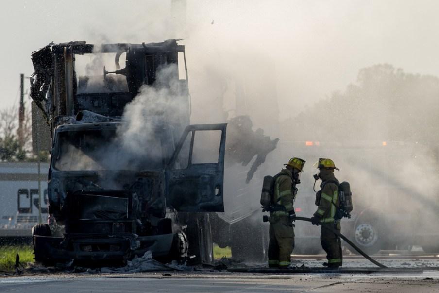 Truck fire 7