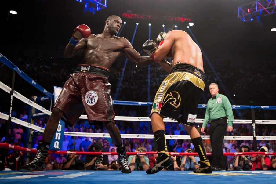 Eric Molina fights Deontay Wilder