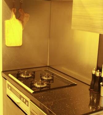男子仕様の厨房