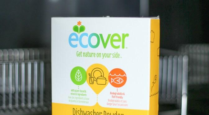 Ecoverの食洗機用洗剤がリニューアルされている件。