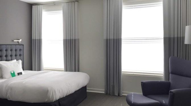 サンフランシスコのライフスタイルホテル「Zetta」の清涼なインテリアコーディネート