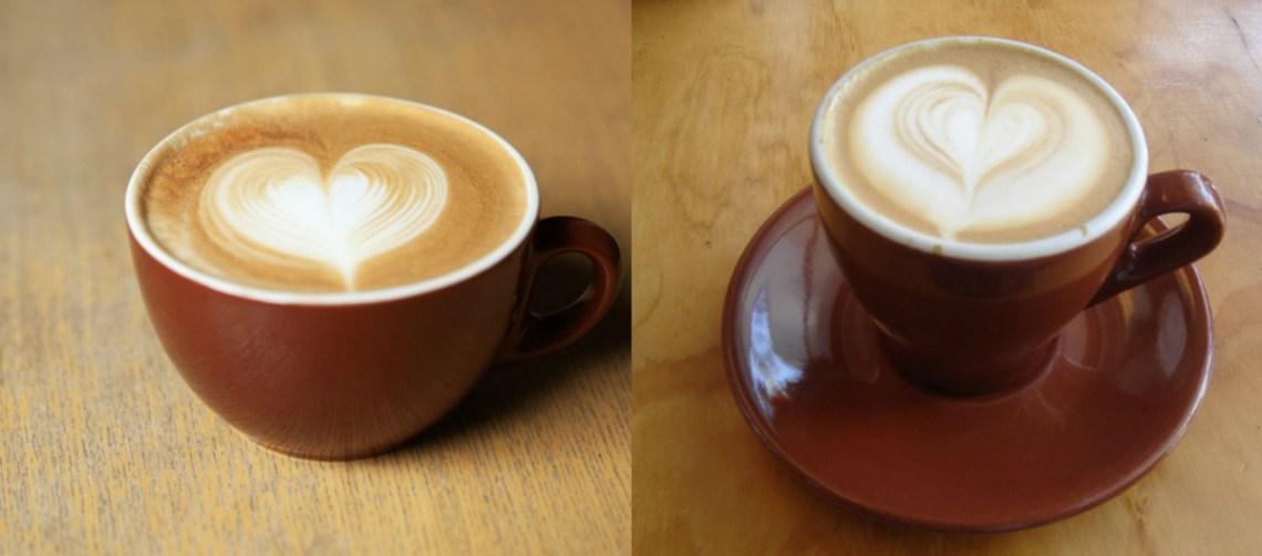 latte heart coffee