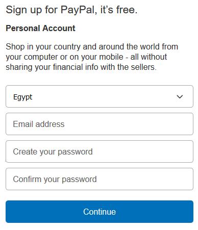 دليلك الشامل لعمل حساب باي بال Paypal مصر مدونة خمسات