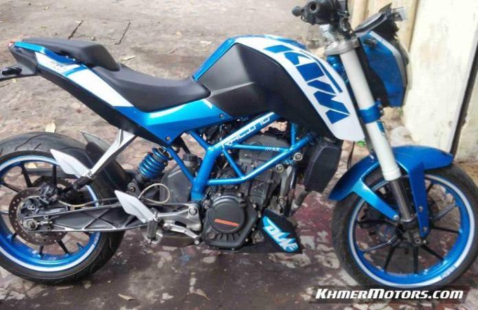 Ktm Duke 200 Modified Khmer Motors ខ្មែរម៉ូតូ