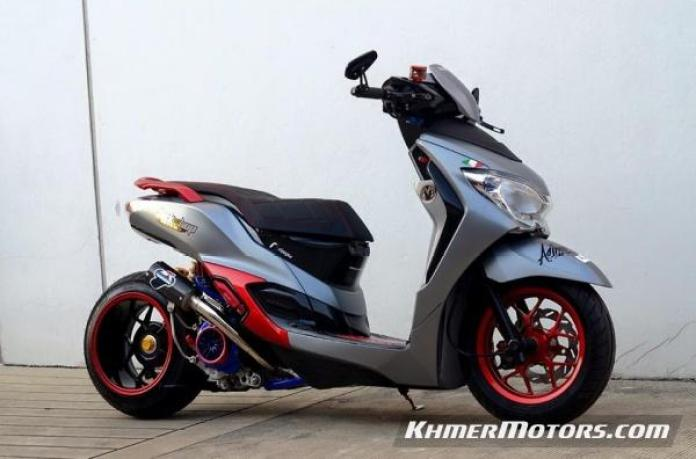 Honda Moove custom modified (1)