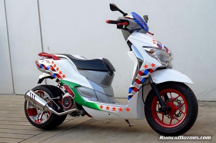 Honda Moove custom modified (8)