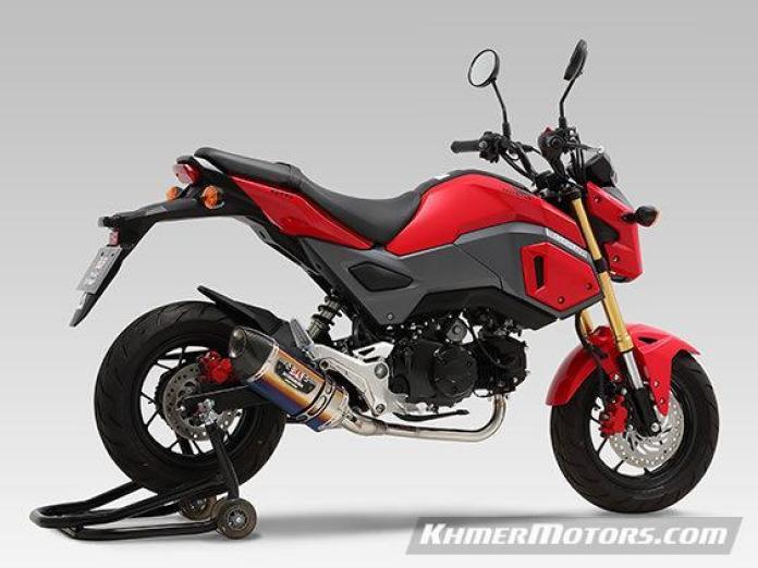 honda-grom-exhaust-r-77s-yoshimura-muffler-carbon-titanium-msx-msx125sf-motorcycle-mini-naked-sport-bike-3