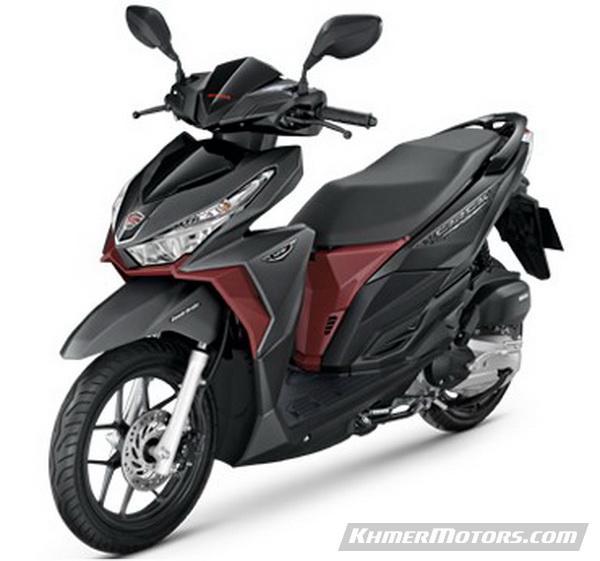 HONDA CLICK 125i 2017 [Price updated] - Khmer Motors
