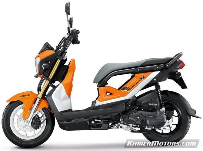 Honda Zoomer-X 2018 [Price updated] - Khmer Motors ខ្មែរម៉ូតូ