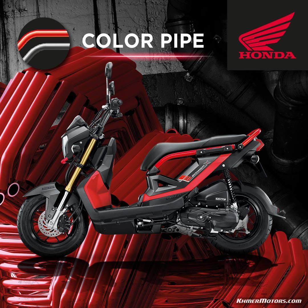 Honda Zoomer X 2018 Price Updated Khmer Motors ខ្មែរម៉ូតូ