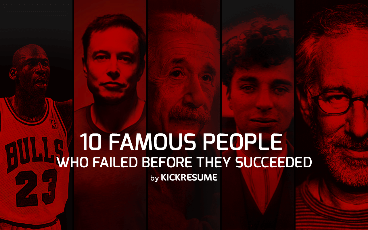 10 Famous People Who Failed Before They Succeeded