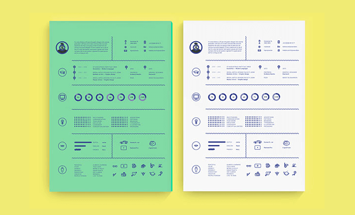 40 Creative Resume Templates Youll Want To Steal in 2019