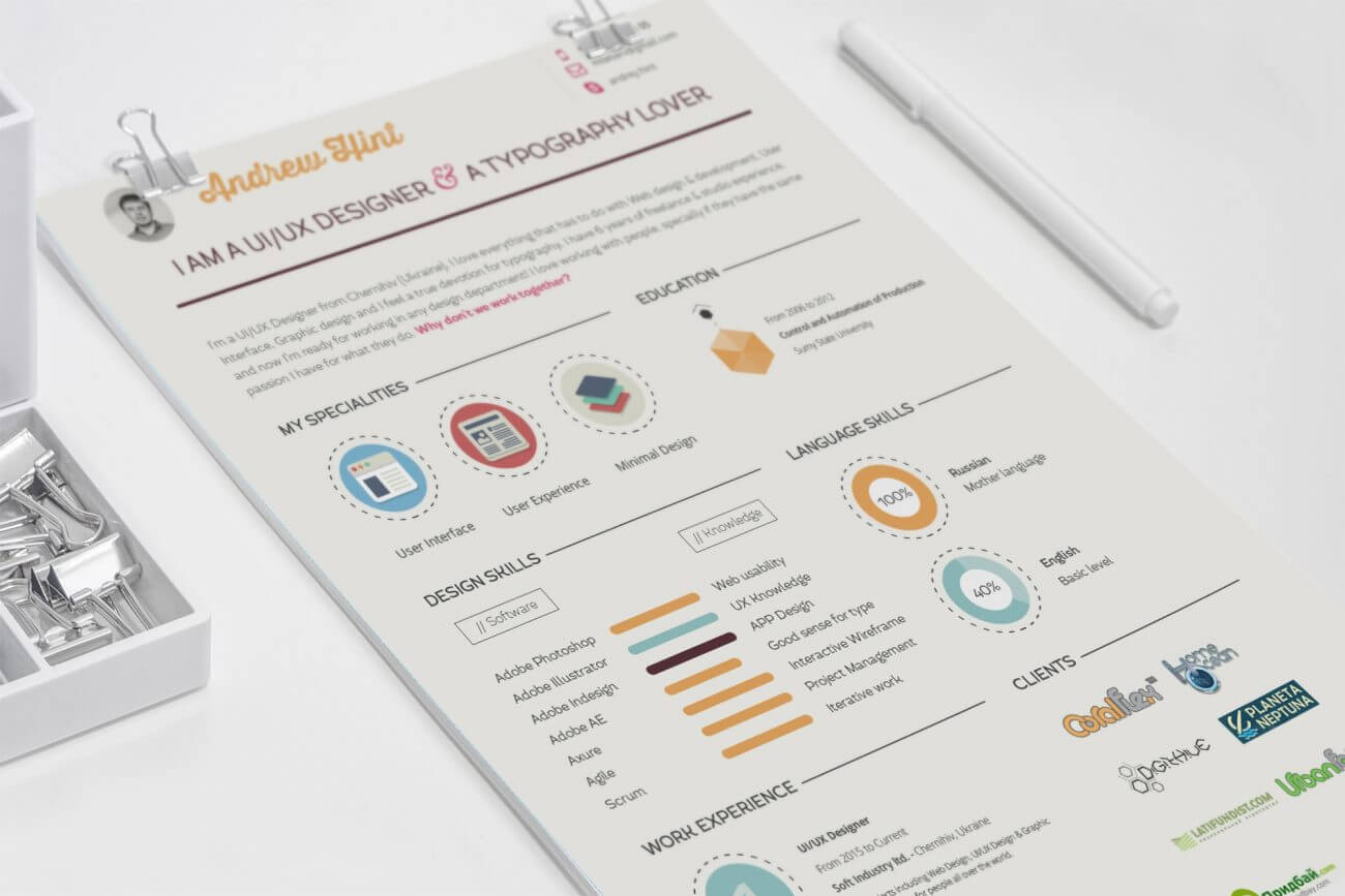40 Creative Resume Templates You'll Want To Steal In 2019