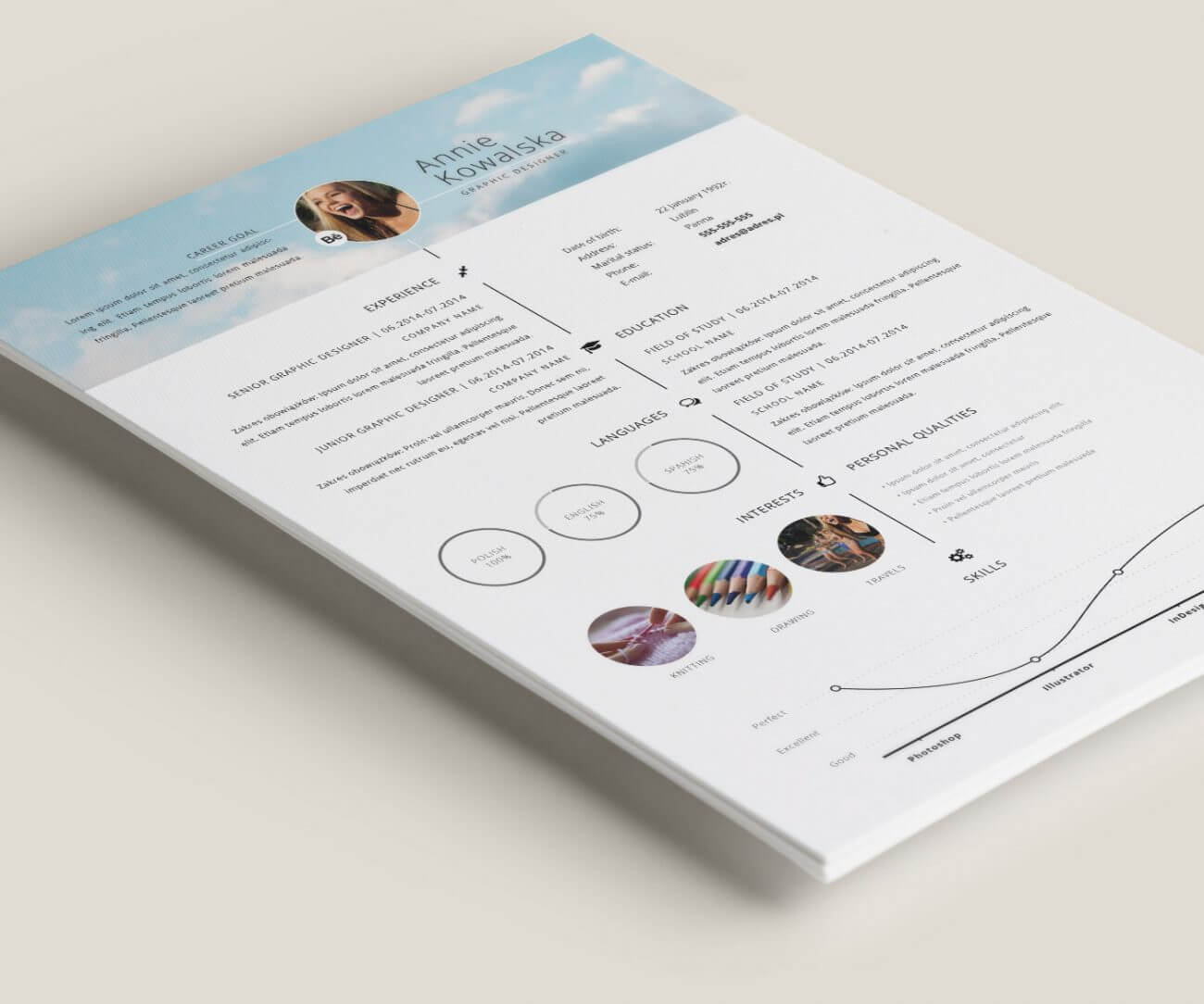 40 Creative Resume Templates You'll Want To Steal in 2018