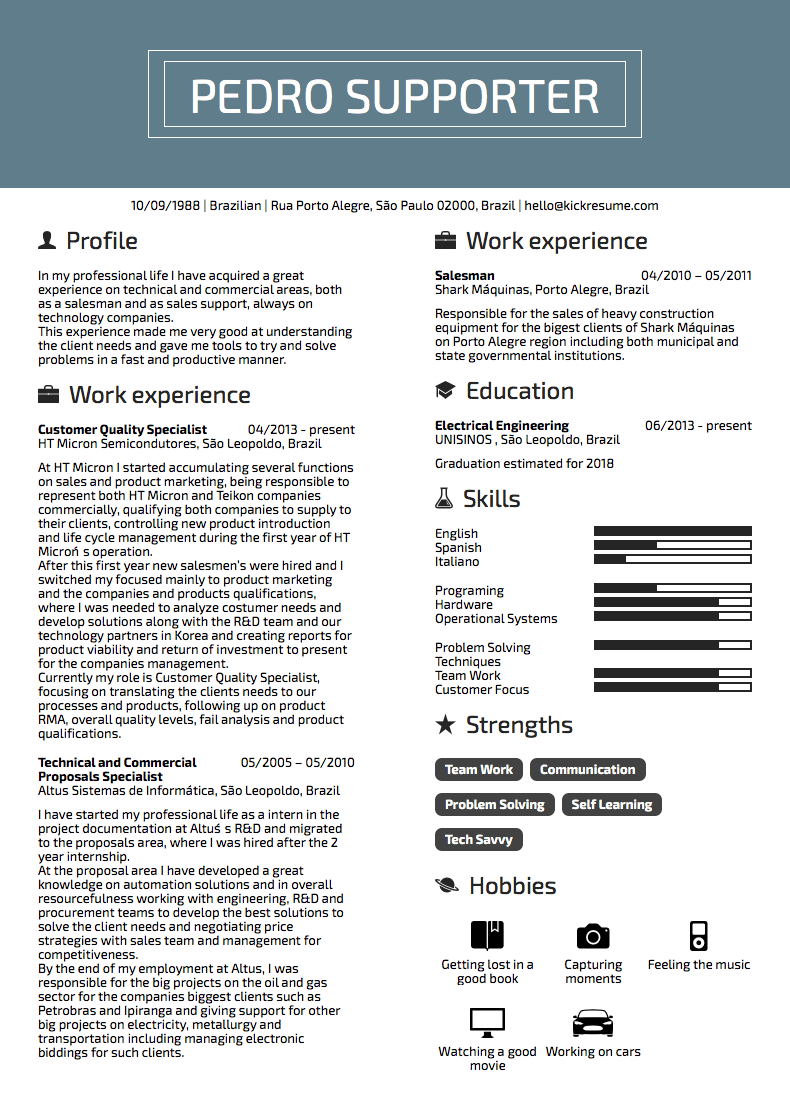10 Resume Examples by People Who Got Hired at Google, Adidas & Others